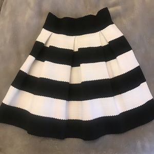 Xhilaration: Target black and white skirt